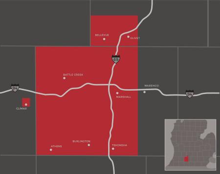 Atlas Sales Territory Map