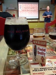 New Belgium Michigan beer distributor presentation