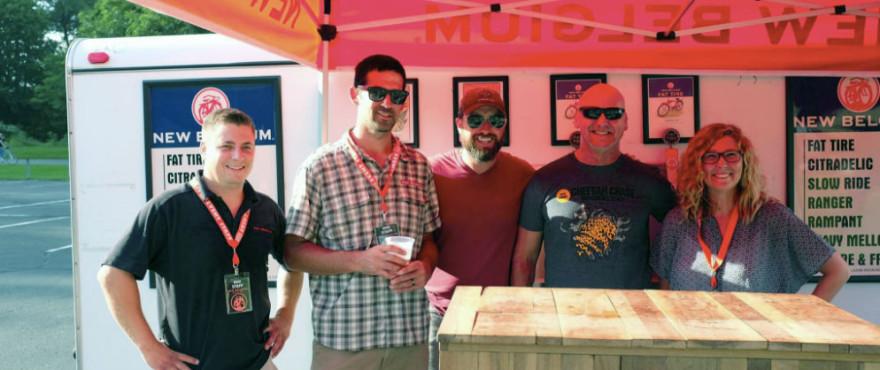 Beer team at Tour de Zoo