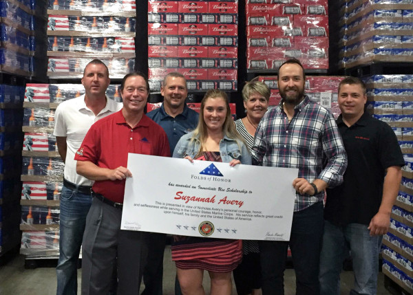 Atlas Sales and Folds of Honor award $5,000 scholarship