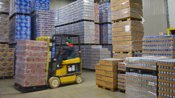 Working overtime to ensure retailers are well-stocked ahead of Super Bowl LI